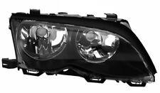 BMW 3 E46 Headlights Headlamp Black (PAIR)