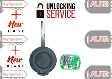 Unlocking Service Smart ForTwo, ForFour 2 Button Remote Key
