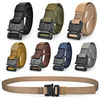 Tactical Military Training Quick Release Nylon Mens Womens Rigger's Webbed Belt