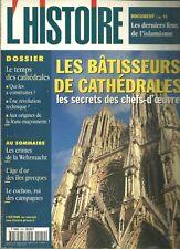 Les Collections de l'histoire - LES BÂTISSEURS DE CATHÉDRALES  - N°249