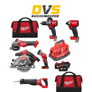 Milwaukee M18FPP6B-503B Fuel 6 Piece Power Pack 18V with 3 x 5.0Ah Batteries