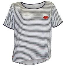 MAZINE T-Shirt Gr XL 42 offwhite navy Streifen Shirt Ysabel Kurzarmshirt