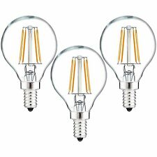 Luxrite G16.5 LED Globe Bulb 40W Equivalent 2700K 450lm Dimmable E12 (3 Pack)