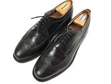 CHURCHS Men's Black Oxford Cordovan Leather Dress Shoes 10.5M