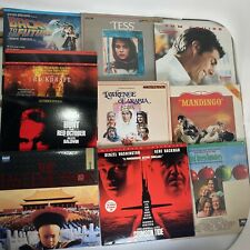 Lot of 10x NM Laser Discs Laserdiscs Movies -Back to the Future, Jerry Maguire +