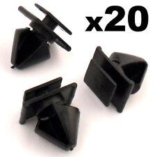 20x PEUGEOT 406 plastique clips BORDURE POUR PORTE MOULURE côté / Pare choc
