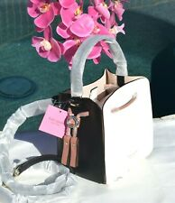 🌸NWT Kate Spade Busy Small Bucket Bag Italian Leather w/ Pouch Black NEW $298