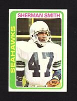 1978 Topps #191 Sherman Smith Seattle Seahawks Football Card EX/MT