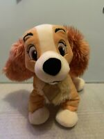 Lady And The Tramp Plush Teddy Soft Toy Disney Store genuine original Authentic