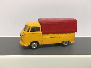 CORGI 431 VW VOLKSWAGEN PICK UP - With Canopy, All Original With Original Tyres