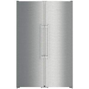 Liebherr SBSEF7242 Comfort NoFrost Side by Side Fridge Freezer - Stainless Steel