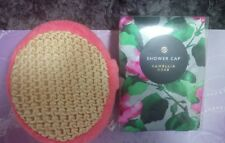 Mothers Day Gift Shower Cap and Skin Exfoliantor Camellia Rose