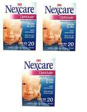 3M NEXCARE OPTICLUDE JUNIOR 1537 Orthoptic Eye Patch 3 Box 60 Patch
