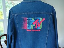 Vintage MTV Denim Jacket Size Medium