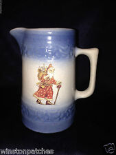 RED WING POTTERY STONEWARE HOMETOWN FAMILY CHRISTMAS 1996 CREAMER PITCHER #483