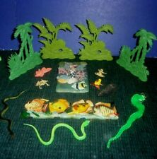 Assorted Toys or Aquarium Pieces - Trees - Fish - Snakes - Frogs & More