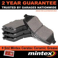FOR PEUGEOT 206 CC SW RANCH MPV 1.6 16V (1996-2006) FRONT MINTEX BRAKE PADS SET