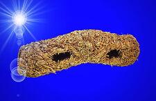 Nager ❤️ GRASTUNNEL 32 cm ❤️ Zubehör Nagerröhre Heu Höhle Hamster Haus Mäuse