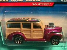 HOT WHEELS SURF N FUN '40S WOODIE FREE SHIPPING !