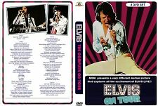 ELVIS  - The Complete On Tour  -  4 DVD