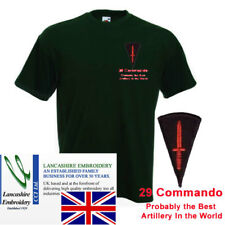 """29 Commando """"Probably The Best Artillery"""" T Shirt Large"""