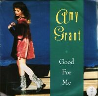 """AMY GRANT good for me AM 810 uk a&m 7"""" PS EX/EX sticker on sleeve"""