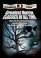 Night Of The Living Dead/Carnival Of Souls/The Satanic Rites of Dracula (DVD)