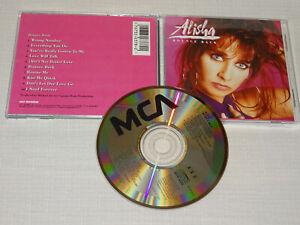 ALISHA - BOUNCE BACK / USA MCA-ALBUM-CD 1990 (VG+)