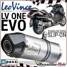 8552E LEOVINCE LV ONE EVO TERMINALE SCARICO HONDA SW-T SILVER WING 400 2009/2012