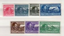 ALBANIA Sc C29-35 NH ISSUE OF 1930 - GREAT OLD AIR MAIL