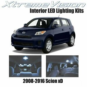XtremeVision LED for Scion xD 2008-2016 (4 Pieces) Cool White Premium Interior L