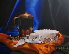 Handmade Acrylic Color Canvas Painting, Size 2.5 Feet x 2 Feet