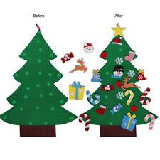 DIY Felt Christmas Tree Ornaments Christmas Tree Decorations for Children Gift