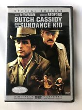 Butch Cassidy and the Sundance Kid Dvd movie western Paul Newman Robert Redford