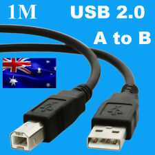 New 1m USB 2.0 A to B Cable for Printer Computer Scanner Device