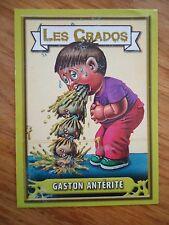Image * Les CRADOS 3 N°151 * 2004 album card Sticker FRANCE Garbage Pail Kid