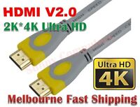 Premium HDMI Cable v2.0 Ultra HD 4K @60Hz 2160p 3D High Speed Ethernet ARC HEC