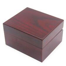 New Wooden WristWatch Gift Presentation Box Case Storage Organiser wrist watch