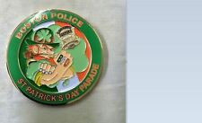 Boston Police MA Southie District 6 Irish Heritage Challenge Coin St. Pat's Day