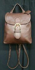 COACH Vtg Mini Backpack Dark Brown Leather L6C-4152 EUC Crossbody