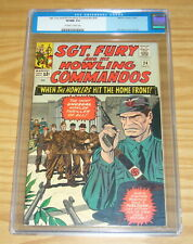 Sgt. Fury and His Howling Commandos #24 CGC 9.0 nick fury silver age marvel 1965