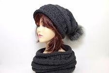 Winterset  - Mütze und Schal, Beanie und Schlauchschal, Damen, Frauen
