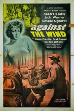 AGAINST THE WIND 1947 Simone Signoret, Jack Warner EALING UK 1-SHEET POSTER