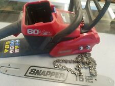 "Snapper SC60V 60V Max Lithium Ion 16"" Cordless Chainsaw"