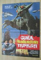 Filmplakat - Guila, Franksteins Teufelsei ( Eiji Okada , Franz Gruber )