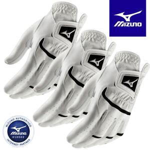 Mizuno Elite Synthetic Leather Men's Golf Glove White - NEW! 2021