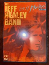 THE JEFF HEALEY BAND - LIVE AT MONTREUX 1999  DVD