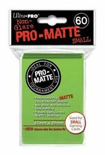 60 Ultra Pro Matte Small Mini Size Deck Protector Card Game Sleeves YuGiOh