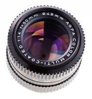 Agfa Color MC 50 mm f 1,4  Pentax K Anschluss  Geprüft Top Prime Lens