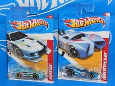 Hot Wheels Lot of 2 Thrill Racers Race Course 24 / Seven & Prototype H-24